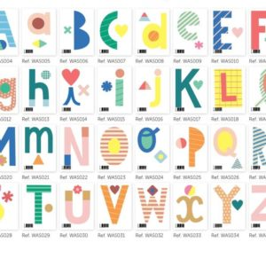 stickers muraux lettres