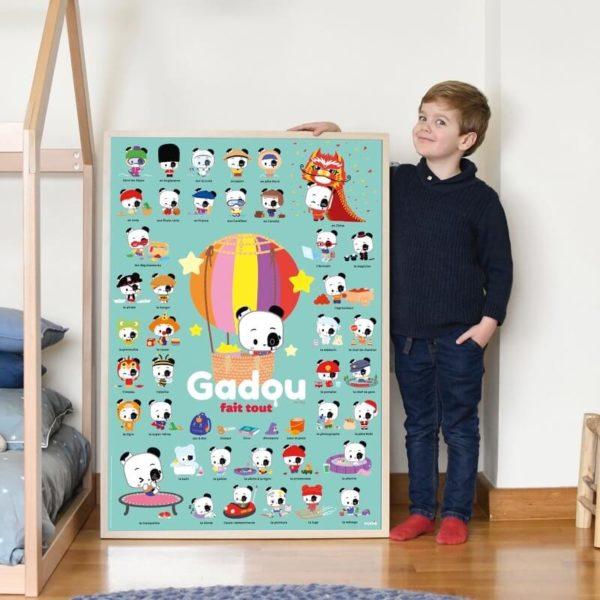 poster éducatif gadou
