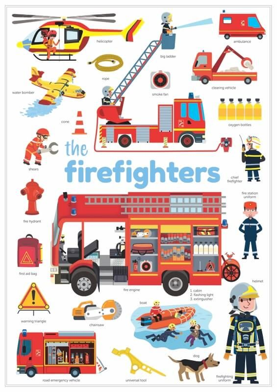poster Firemen