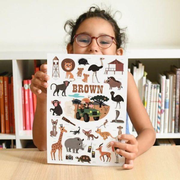 poster brown