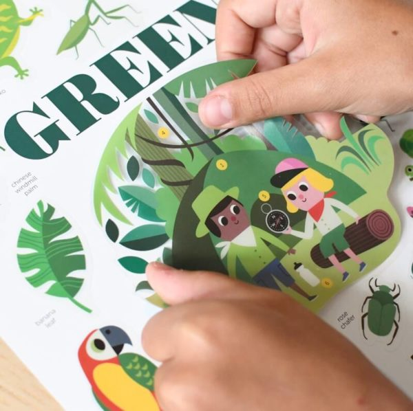 poster green