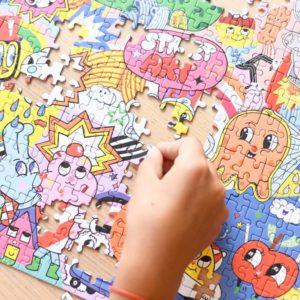 puzzle educatif