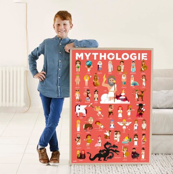 poster et stickers 6 ans